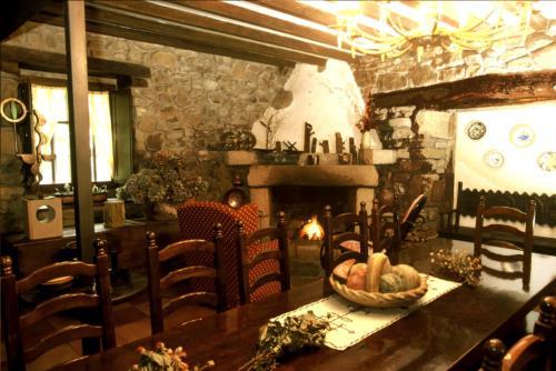 comedor casa rural garro en Vizcaya