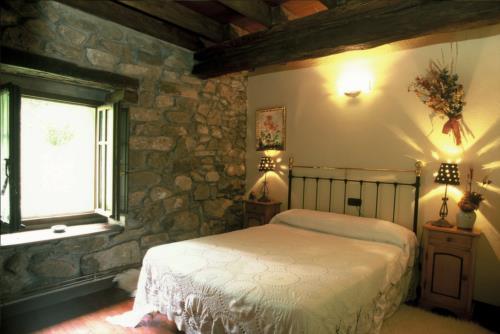 habitación doble 1 casa rural garro en Vizcaya