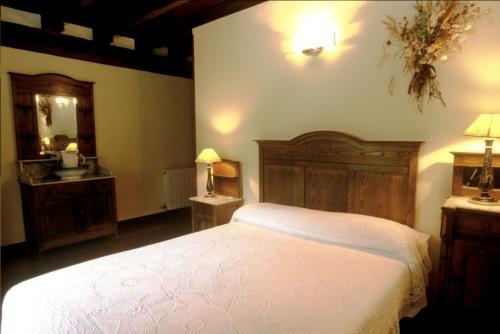 habitación doble casa rural garro en Vizcaya