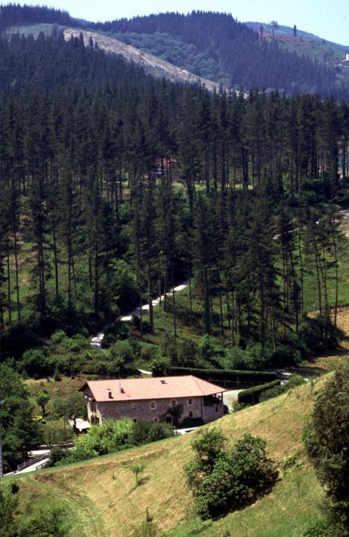 paisaje casa rural garro en Vizcaya