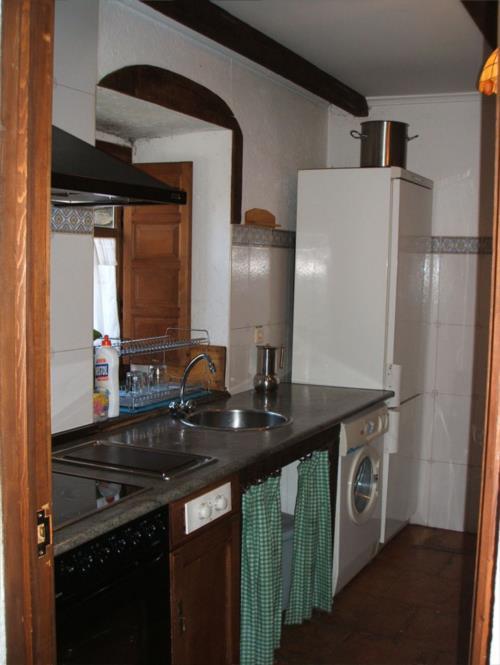 kitchen farm house amalau in Bizkaia