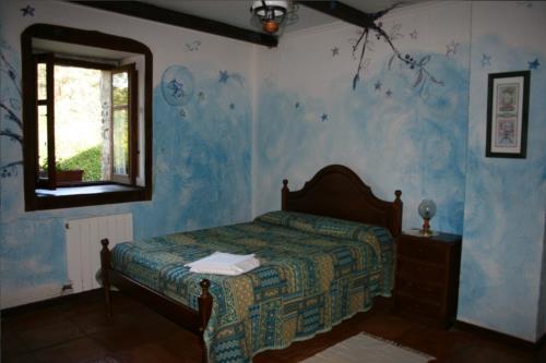 double room 1 farm house amalau in Bizkaia