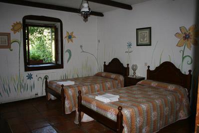 double room 2 farm house amalau in Bizkaia