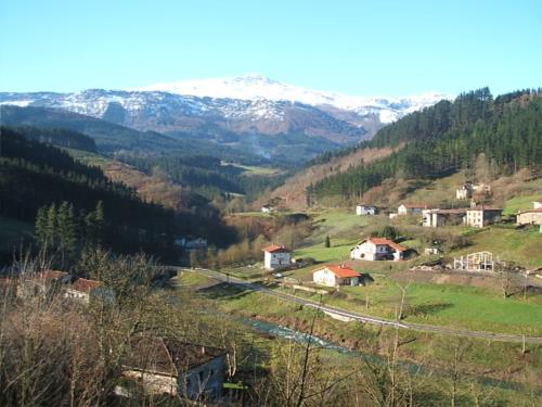 landscape 1 farm house amalau in Bizkaia