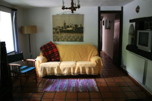 living room farm house amalau in Bizkaia