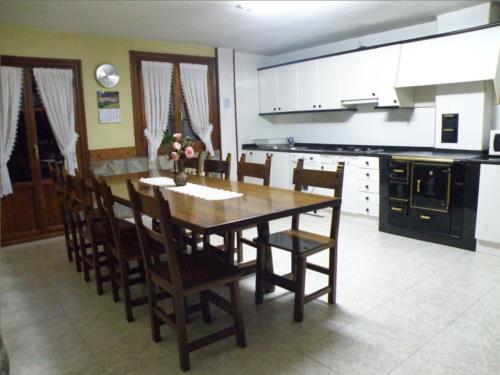 cocina agroturismo akuiola en Vizcaya