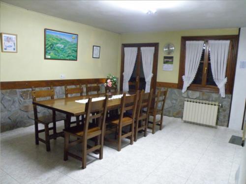 comedor agroturismo akuiola en Vizcaya