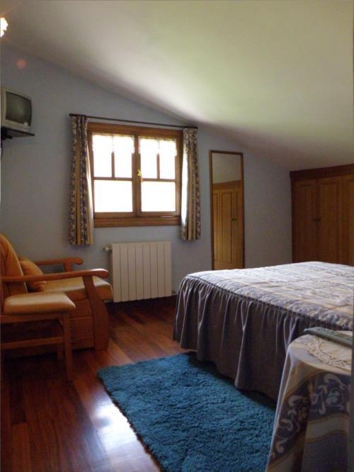 habitación doble 1 agroturismo akuiola en Vizcaya