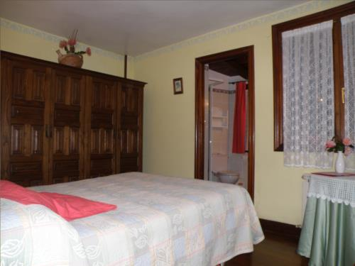 habitación doble agroturismo akuiola en Vizcaya