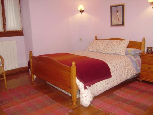 habitación doble 3 agroturismo Aldarreta en Gipuzkoa