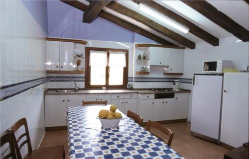 cocina agroturismo Borda en Gipuzkoa