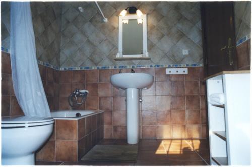 baño agroturismo zabale en gipuzkoa