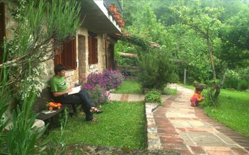 jardin agroturismo mendiaxpe en alava
