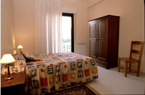 habitación doble agroturismo Gaikoetxe en Gipuzkoa