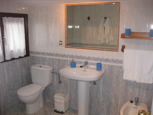 baño 1 agroturismo Aizperro en Gipuzkoa