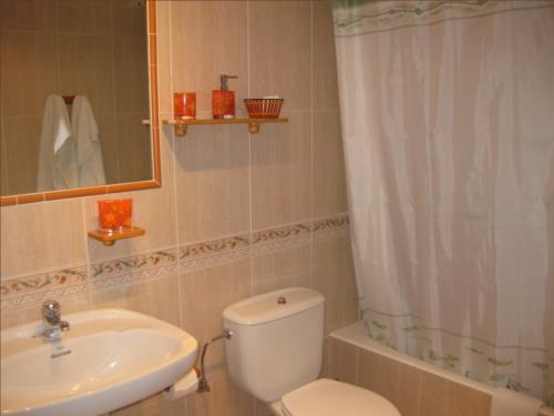 baño 2 agroturismo Aizperro en Gipuzkoa
