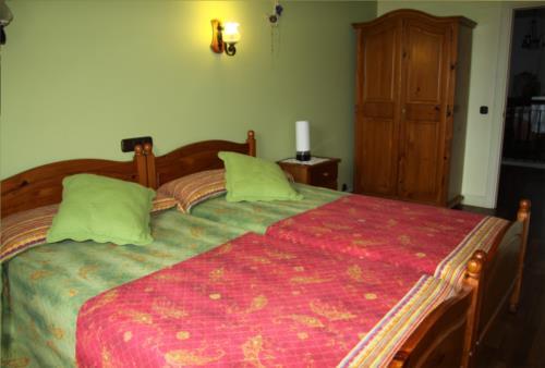 habitación doble 3 agroturismo Aizperro en Gipuzkoa