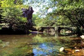 Puente Unanibi sobre el río Leitzaran