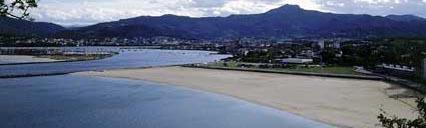 Hondarribia beach