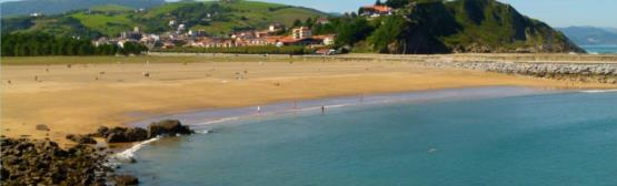 Santiago Beach in Zumaia
