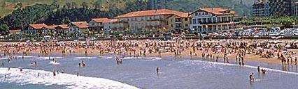Santiago Beach in Deba