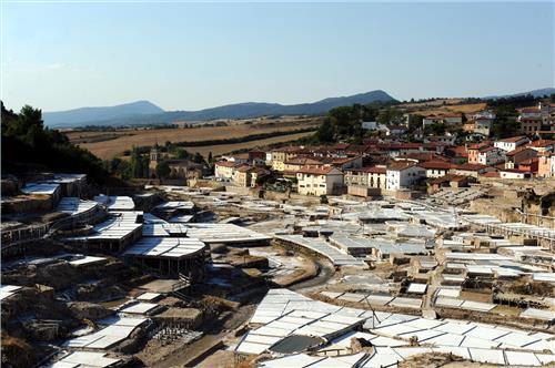 Resultado de imagen de Salinas romanas de Añana