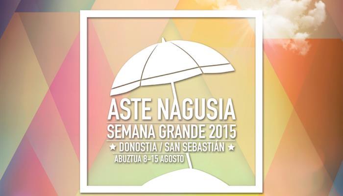 Semana Grande 2015 Donostia
