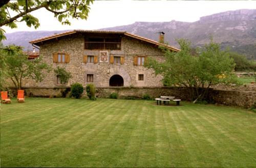 facade 1 farm house caserío maribel in Alava