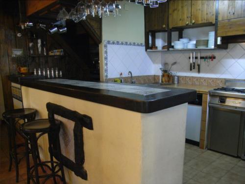 Cocina agroturismo Iturbe en Bizkaia