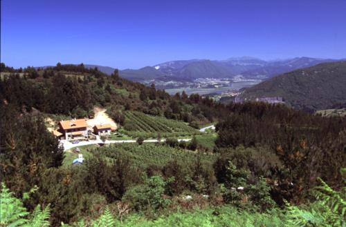Paisaje 1 agroturismo Iturbe en Bizkaia