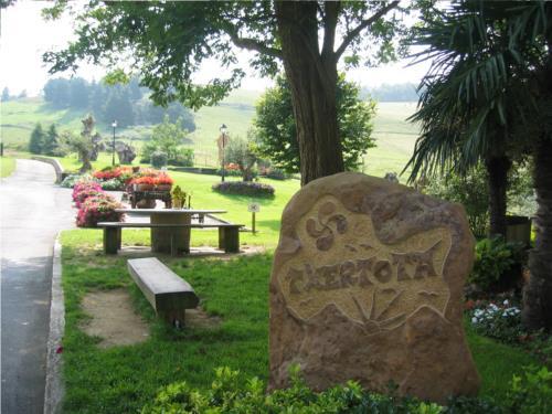 Exterior agroturismo Txertota en Gipuzkoa