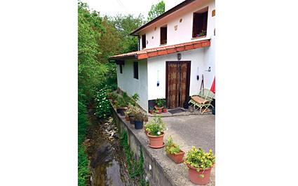 fachada casa rural errota berri en gipuzkoa