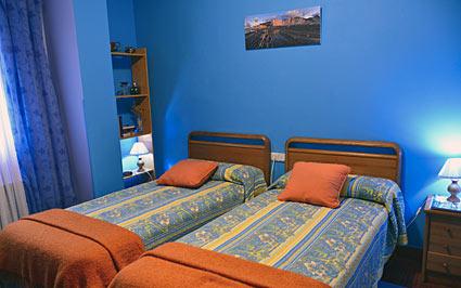habitación doble casa rural Errota Berri en Gipuzkoa
