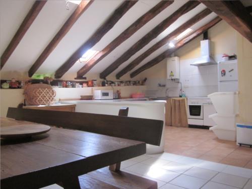kitchen farm house Sarasola-Zahar in Gipuzkoa