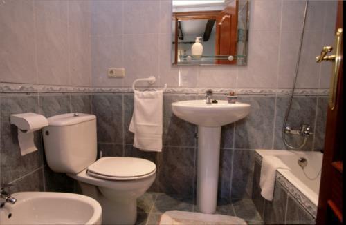 baño 1 casa rural Altzibar Berri en Gipuzkoa
