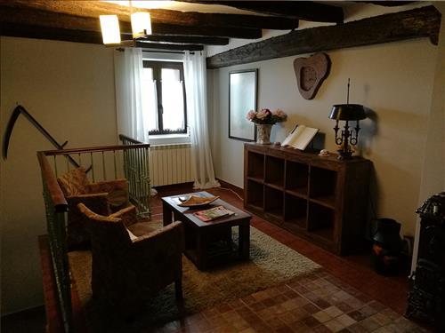 Sala de estar Altzibar Berri Urnieta alojamiento Gipuzkoa
