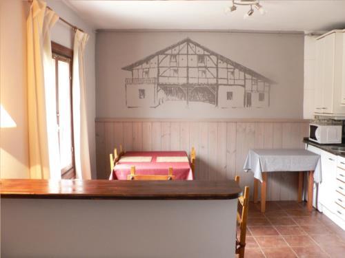 comedor casa rural Ozollo en Bizkaia