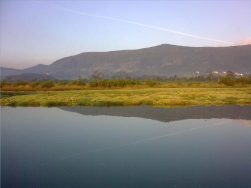 paisaje 1 casa rural Ozollo en Bizkaia
