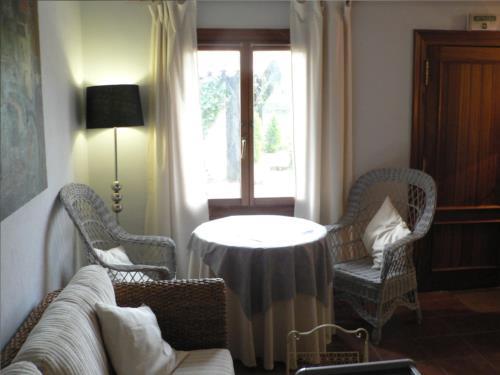 sala casa rural Ozollo en Bizkaia