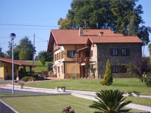 jardín casa rural Matsa en Bizkaia