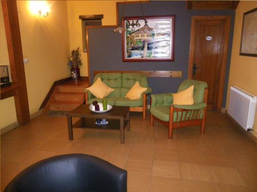 sala casa rural Matsa en Bizkaia