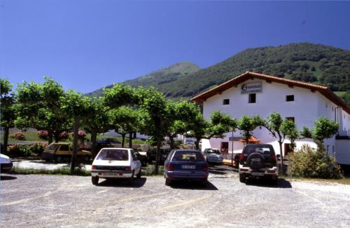 outside farm house santuaran bekoa in Gipuzkoa