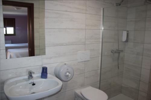bathroom country house Gure ametsa in Gipuzkoa