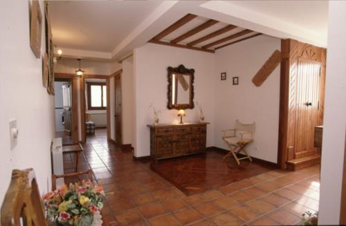 inside farm house kostegi in Gipuzkoa