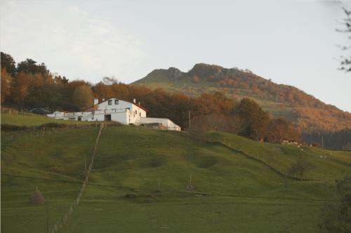 landscape farm house montefrio in Gipuzkoa