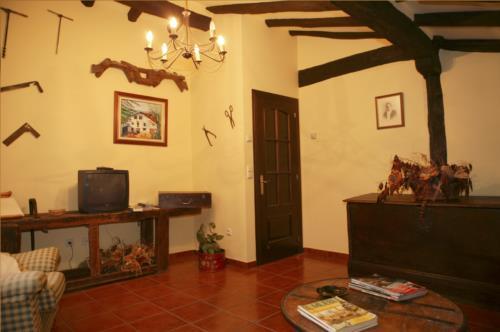 living room farm house montefrio in Gipuzkoa