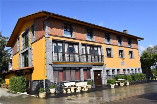 facade farm house ibarrola txiki in Gipuzkoa