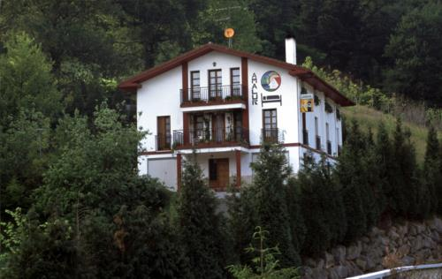 fachada 1 agroturismo Amalur en Gipuzkoa