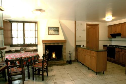 cocina casa rural trabaku goiko en Vizcaya