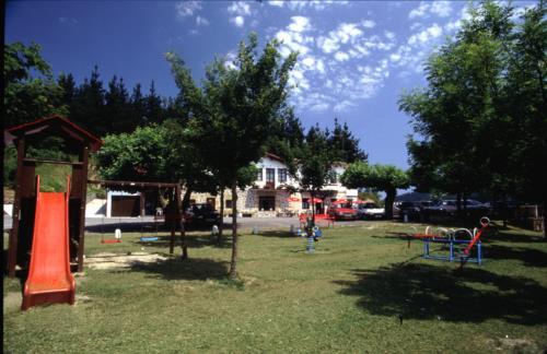 jardín casa rural trabaku goiko en Vizcaya